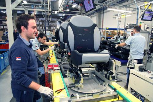 produkcja foteli samochodowych 2016 2
