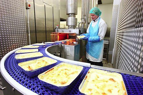 produkcja dan gotowych lasagne